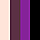 Buff/Plum/Purple/Black